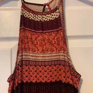American Eagle Outfitters Dresses - AE Boho Maxi with Slit - size small